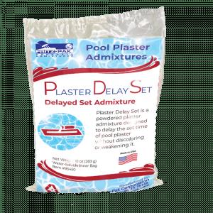 Plaster delay admixture