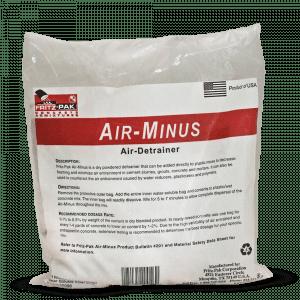 Product shot of Air Minus: an air-detraining admixture