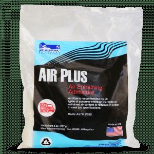 Product shot of Air Plus: an air-entraining admixture