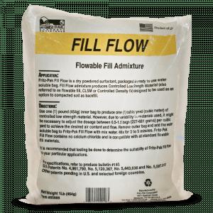 Product shot of Fill Flow flowable fill concrete admixture
