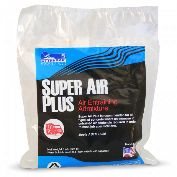 Product shot of Super Air Plus: an air-entraining agent