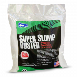 Fritz-Pak Super Slump Buster: a viscosity modifying admixture