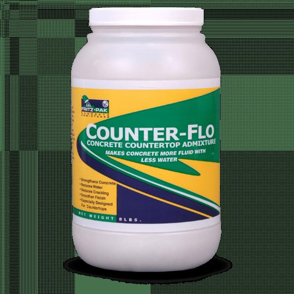 Fritz-Pak Counter-Flo: a concrete countertop admixture